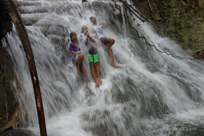 Horlai waterfall - top level