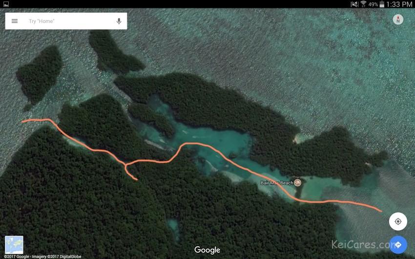 Bair island route
