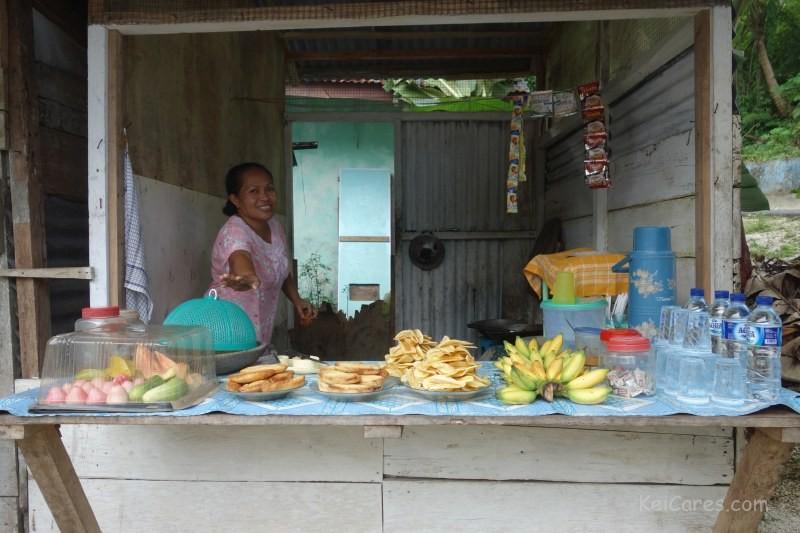 Evu food stand