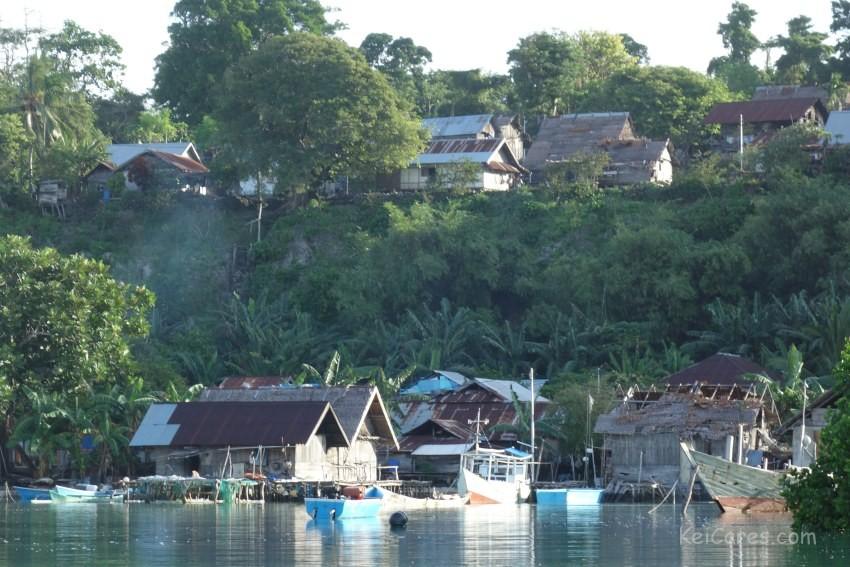 Tanimbar Kei - village